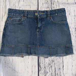 Denim Jean Mini Skirt Old Navy